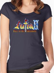 Lufia 2 (SNES) Title Screen Women's Fitted Scoop T-Shirt