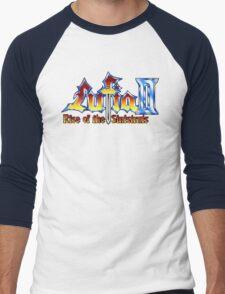 Lufia 2 (SNES) Title Screen Men's Baseball ¾ T-Shirt