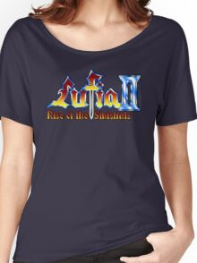 Lufia 2 (SNES) Title Screen Women's Relaxed Fit T-Shirt