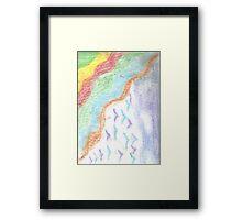 Rythm and Flight Framed Print