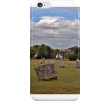 Avebury Afternoon A iPhone Case/Skin