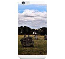 Avebury Afternoon B iPhone Case/Skin