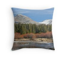 Tuolumne River 1 Throw Pillow