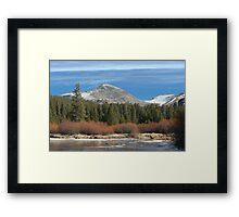 Tuolumne River 2 Framed Print