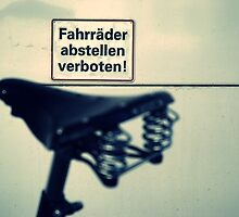 No bicycle parking by heinrich