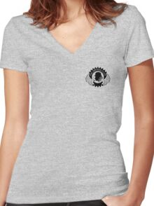 Artifice Club Logo Women's Fitted V-Neck T-Shirt