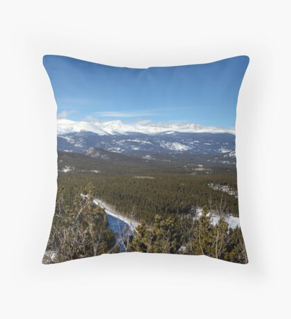 View from the Golden Gate Park  Throw Pillow
