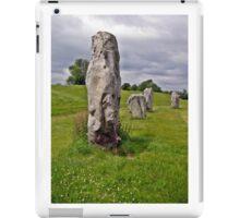 Avebury Circle A iPad Case/Skin