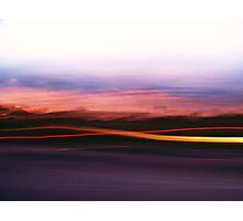 Light streeks  Photographic Print