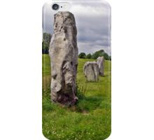 Avebury Circle A iPhone Case/Skin