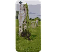Avebury Circle B iPhone Case/Skin