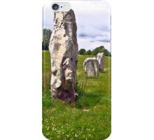 Avebury Circle D iPhone Case/Skin
