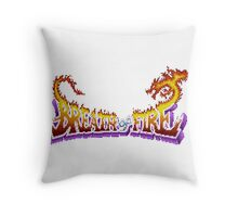 Breath of Fire (SNES) Title Screen Throw Pillow