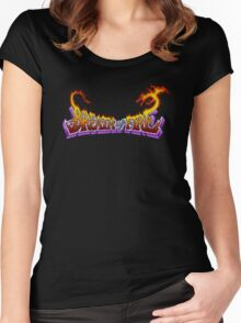 Breath of Fire (SNES) Title Screen Women's Fitted Scoop T-Shirt