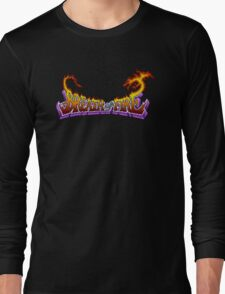 Breath of Fire (SNES) Title Screen Long Sleeve T-Shirt