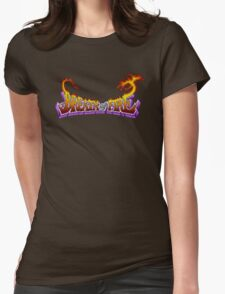 Breath of Fire (SNES) Title Screen Womens Fitted T-Shirt