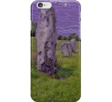 Avebury Circle E iPhone Case/Skin