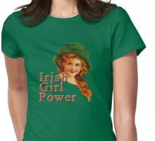 Red Headed IRISH Girl Power Womens Fitted T-Shirt