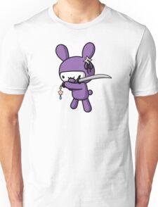 Girly Ninja Bunny Unisex T-Shirt