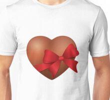 Valentine Chocolate Heart Unisex T-Shirt