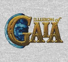Illusion of Gaia (SNES) Title Screen One Piece - Long Sleeve