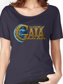 Illusion of Gaia (SNES) Title Screen Women's Relaxed Fit T-Shirt