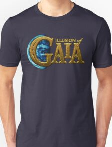 Illusion of Gaia (SNES) Title Screen Unisex T-Shirt