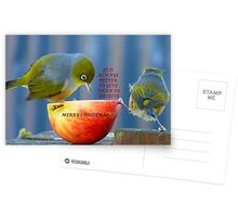 It is always better to give than to receive! - Christmas card - NZ  Postcards
