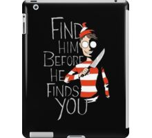 Where's Waldo? iPad Case/Skin