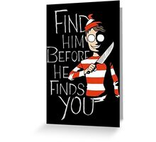 Where's Waldo? Greeting Card
