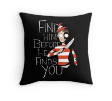 Where's Waldo? Throw Pillow