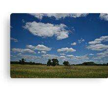 wisconsin plains Canvas Print