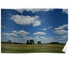 wisconsin plains Poster