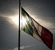mexican flag by tuetano