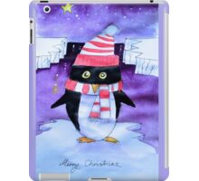 Christmas penguin iPad Case/Skin