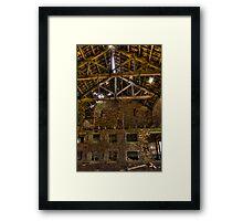 The Hanging Barn Framed Print