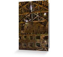 The Hanging Barn Greeting Card