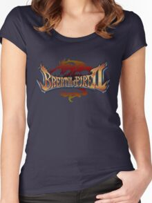 Breath of Fire 2 (SNES) Title Screen Women's Fitted Scoop T-Shirt