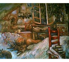 The Studio & Spirits Dream, First Detail Photographic Print