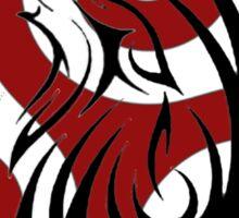 Teen Wolf - Triskele Howling Wolf Sticker