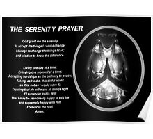 The Serenity Prayer 3 (for dark colors) Poster