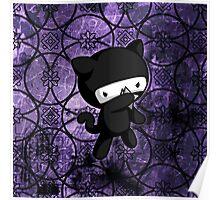 Ninja Kitty Poster