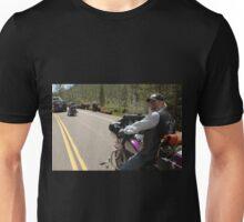 Yellowstone Bikers and Buffalo Unisex T-Shirt