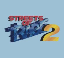 Streets of Rage 2 (Genesis) Title Screen Kids Tee