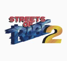 Streets of Rage 2 (Genesis) Title Screen One Piece - Short Sleeve