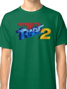 Streets of Rage 2 (Genesis) Title Screen Classic T-Shirt