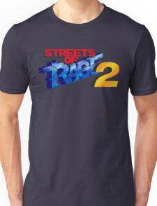 Streets of Rage 2 (Genesis) Title Screen Unisex T-Shirt