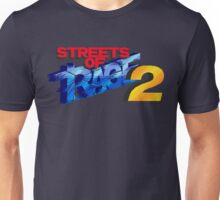 Streets of Rage 2 (Genesis) Title Screen Unisex T-Shirt