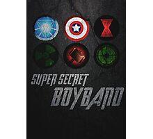 Super Secret Boyband Photographic Print