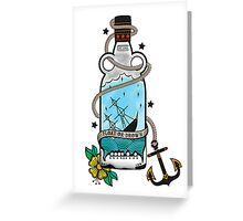 FLOAT OR DROWN Greeting Card